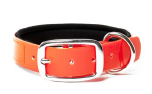 Mystique Biothane Halsband Deluxe Neopren, gold orange