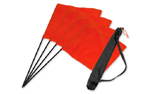 Mystique Marking Flag Set orange