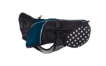 Non Stop Dogwear Beta Pro Raincoat Hundemantel, blue