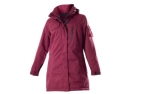 Owney Damen Winterparka Arctic, cherry red