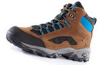 Owney Outdoorschuhe Ranger High, brown-petrol