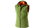 Owney Softshell-Weste Damen Yunga, cedar green