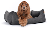 padsforall Hundebett Worldcollection Comfort, grau