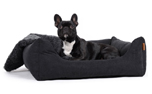 padsforall Hundebett Worldcollection Comfort, schwarz