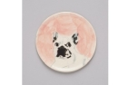 The Painters Wife French Bulldog Dish