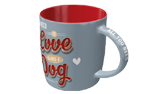 PfotenSchild Tasse All you need Love Dog