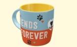 PfotenSchild Tasse Friends Forever