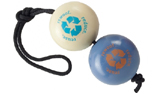 Planet Dog Orbee-Tuff Recycle Ball (2 Hundebälle am Seil)