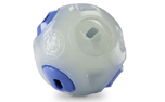 Planet Dog Orbee-Tuff Whistle Ball, glow/blue