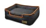P.L.A.Y. Pet Lifestyle and You Lounge Bed Denim Orange Medieval Blue/Mandarin