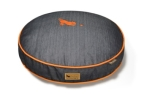 P.L.A.Y. Pet Lifestyle and You Round Bed Denim Orange Medieval Blue/Mandarin