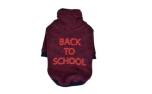 Puppia Back to School Hundepullover wein