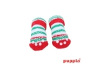 Puppia Grinch Hundesocken rot