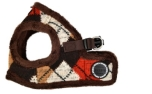 Puppia Jolly Harness B Hundegeschirr, braun