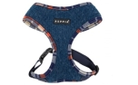 Puppia Smurf Harness A navy
