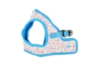 Puppia Wildflower Harness B himmelblau