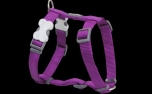 Red Dingo Nylon Hundegeschirr, Uni violett