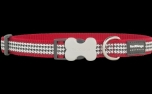 Red Dingo Nylon Hundehalsband, Fang It Red
