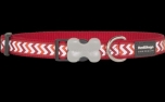 Red Dingo Nylon Hundehalsband, Reflective Ziggy Red