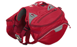 Ruffwear Palisades Pack Hunderucksack, red currant