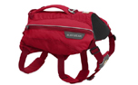 Ruffwear Singletrak Pack Hunderucksack, red currant