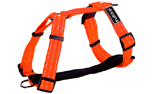 rukka Form Neon Harness Hundegeschirr, neon orange