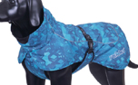 rukka Frosty Winter Jacket Hundejacke, turquoise