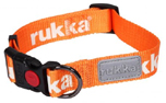 rukka Glow Collar Fluorescent Hundehalsband, orange