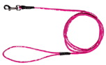 rukka Mini comfort leash Rundleine 6mm, pink