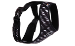 rukka Mini Comfort Print Harness Hundegeschirr, gray mix