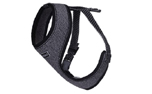 rukka Star Mini Harness Hundegeschirr, schwarz