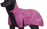 rukka Wave Raincoat Regenmantel, pink/black