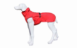 Stock & Stein Hundejacke Rainmaster, simply Red