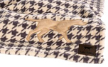 Tall Tails Fleece Hundedecke Houndstooth