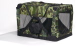 Travel Care Hundetransportbox camouflage