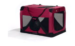 Travel Care Hundetransportbox, weinrot