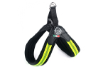Tre Ponti Hundegeschirr Easy Fit Soft Mesh Fluo Pop Click, gelb
