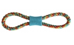 United Pets PetzPoint Bark-a-Boo Rope n Roll Hundespielzeug