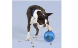United Pets Tumbler Treat Puzzle Toy Blue
