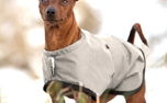 DRYUP Warmup-Cape Wind & Rain MINI Hundemantel, light olive