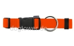 Hundehalsband Basic, Wolters, orange