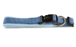 Wolters Cat & Dog Professional Comfort Halsband, riverside blue/skyblue