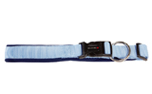 Wolters Cat & Dog Professional Comfort Halsband, skyblue/marine