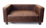 Wolters Hundesofa First Class Lounge antik-braun