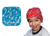 Aqua Coolkeeper Kopftuch Cooling Bandana Kids, Cool Blue