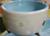 dogtower Keramik Hundenapf Tupferl, blau