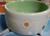 dogtower Keramik Hundenapf Tupferl, grün