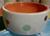 dogtower Keramik Hundenapf Tupferl, orange