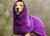 DRYUP cape Hundebademantel, edition bilberry