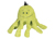 HuggleHounds Knotties Octo-Knottie, citrone